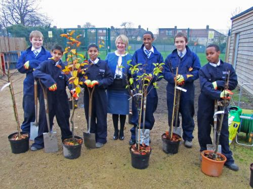 London schools grow their own business