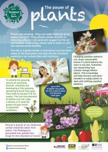 BBSRC Science on the Farm poster - PLANTS