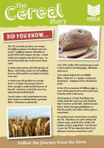 The Cereal Story - Wheat, Barley and Oats
