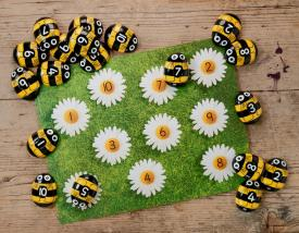 Honey Bee Number Kit