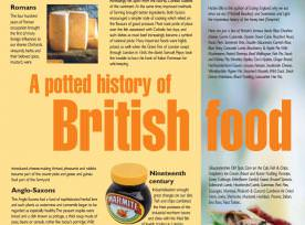 A potted history of British food