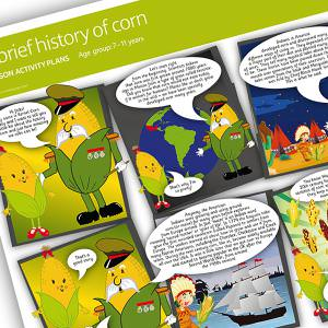 A brief history of sweetcorn