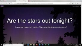 Are the stars out tonight ?