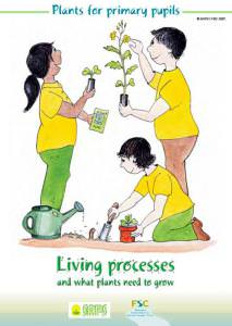 Plants for Primary Pupils: Living processes and what plants need to grow