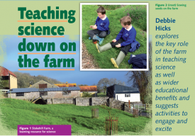 Teaching Science down on the farm
